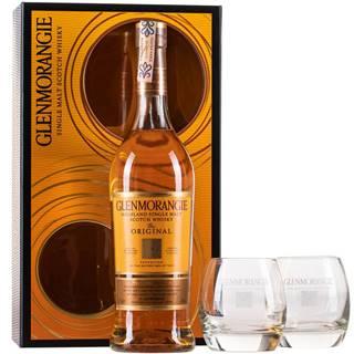 Glenmorangie Original 10 ročná s 2 pohármi 40% 0,7l
