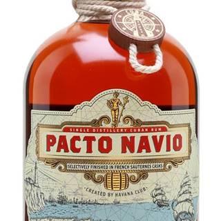 Havana Club Pacto Navio Rum 40% 0,7l