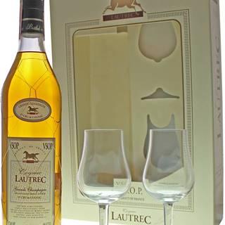 Lautrec VSOP s 2 pohármi