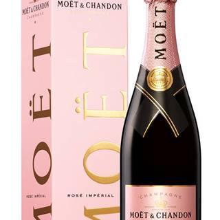 Moët & Chandon Rosé Impérial v kartóniku 12% 0,75l