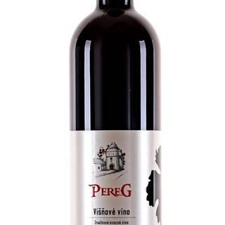 Pereg Višňové víno 10% 0,75l