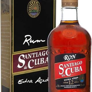 Santiago de Cuba Extra Anejo 12 ročný 40% 0,7l
