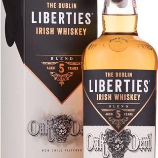 The Dublin Liberties Oak Devil Irish 5 ročná  46% 0,7l