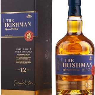 The Irishman Single Malt 12 ročná 43% 0,7l