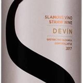 Topoľčianky Devín slamové víno 2017 11% 0,375l