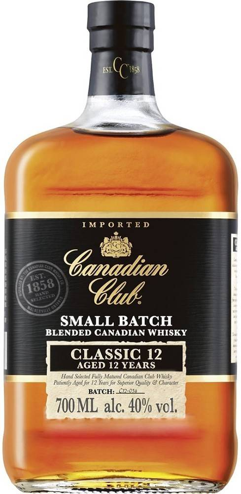 Canadian Club Canadian Club 12 ročná 1l 40%