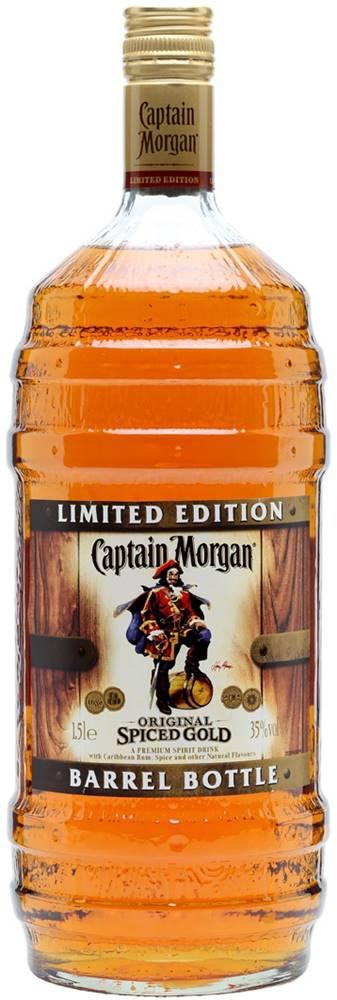 Captain Morgan Captain Morgan Spiced Gold Barrel Bottle 35% 1,5l