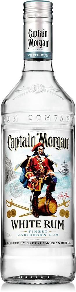 Captain Morgan Captain Morgan White 1l 37,5%