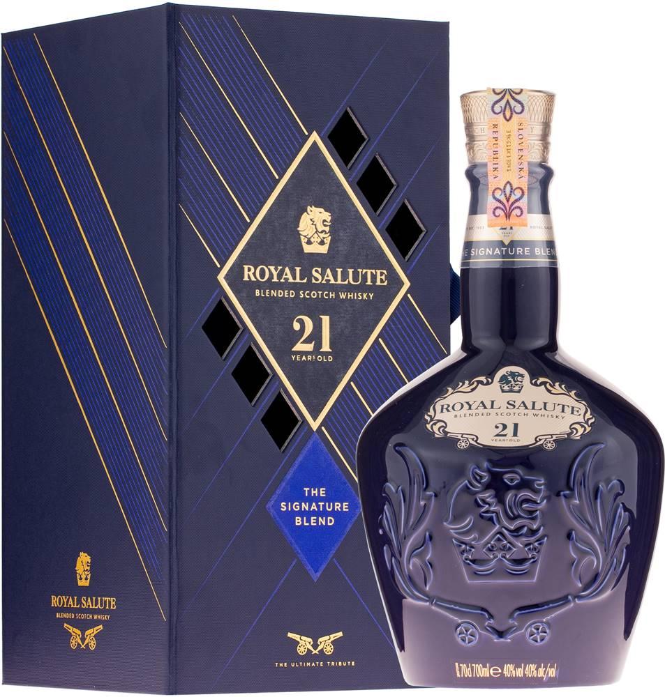 Chivas Chivas Royal Salute 21 ročná The Sapphire Flagon 40% 0,7l