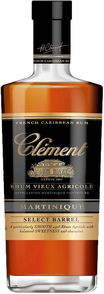 Clément Clément Rhum Select Barrel 40% 0,7l