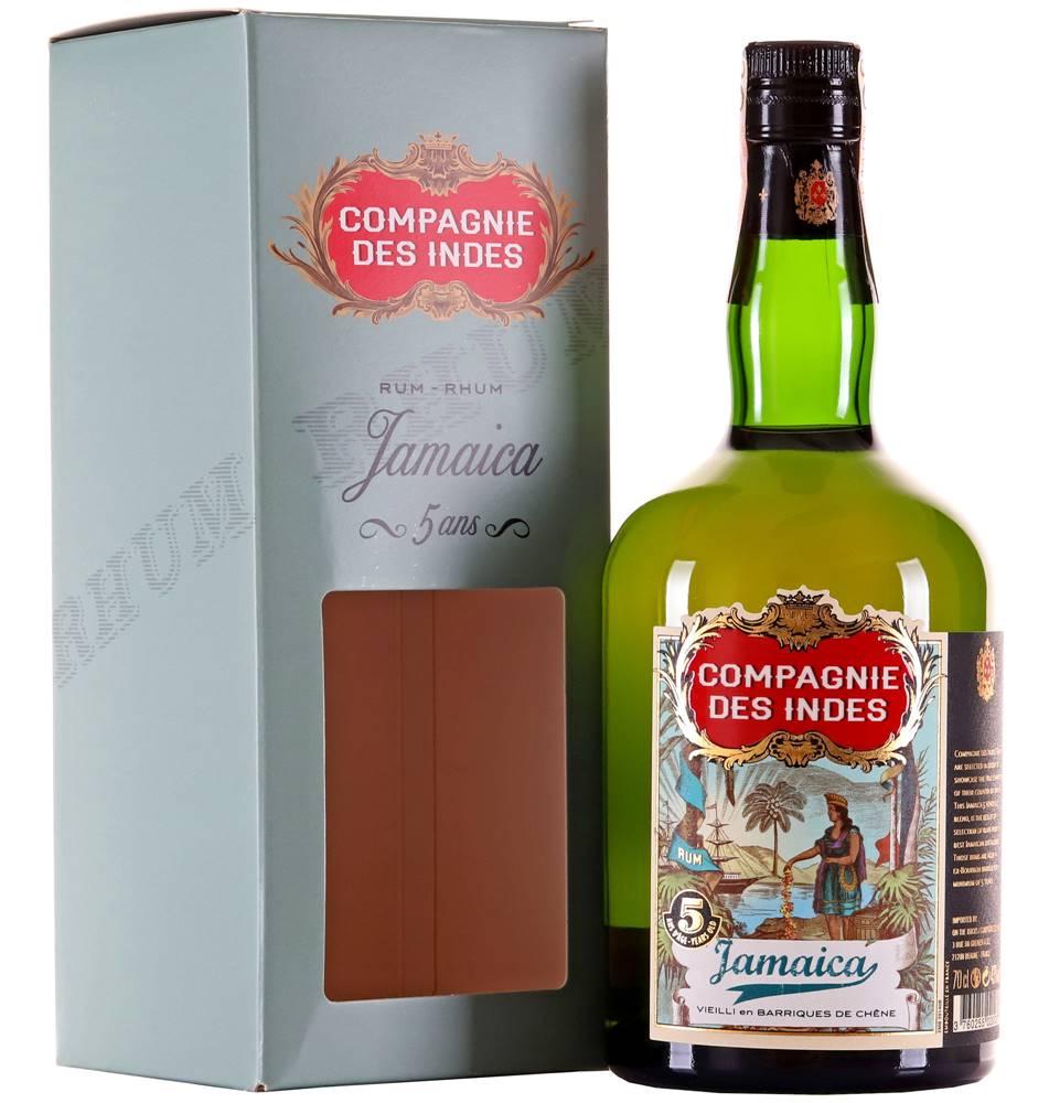 Compagnie Des Indes Compagnie des Indes Blend Jamaica 5 ročný 43% 0,7l