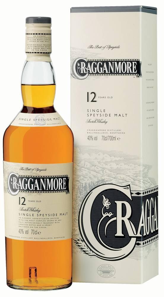 Cragganmore Cragganmore 12 ročná 40% 0,7l