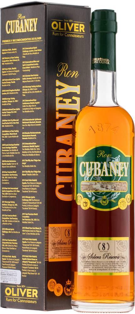 Cubaney Cubaney Reserva 8 ročný 38% 0,7l