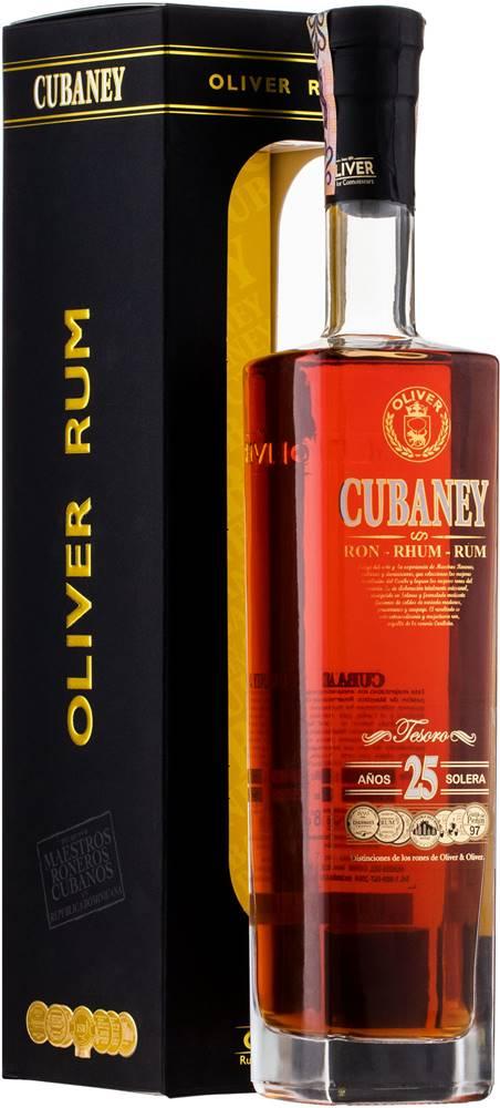 Cubaney Cubaney Tesoro 25 ročný 38% 0,7l