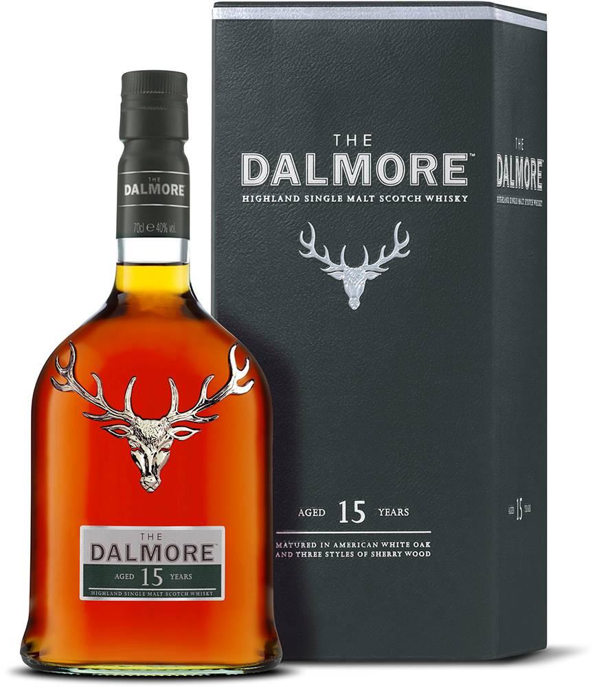 Dalmore Dalmore 15 ročná 40% 0,7l