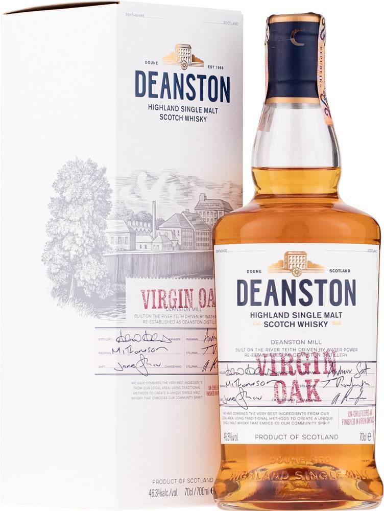 Deanston Deanston Virgin Oak 46,3% 0,7l