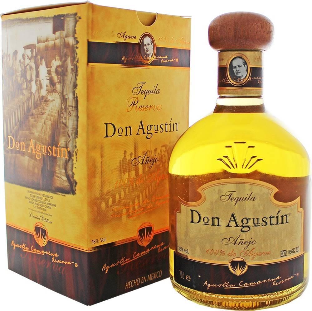 Don Agustín Don Agustín Anejo 38% 0,7l