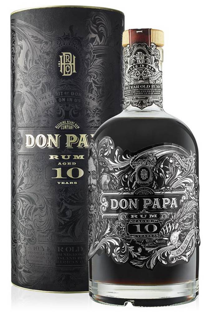 Don Papa Don Papa 10 ročný rum 43% 0,7l