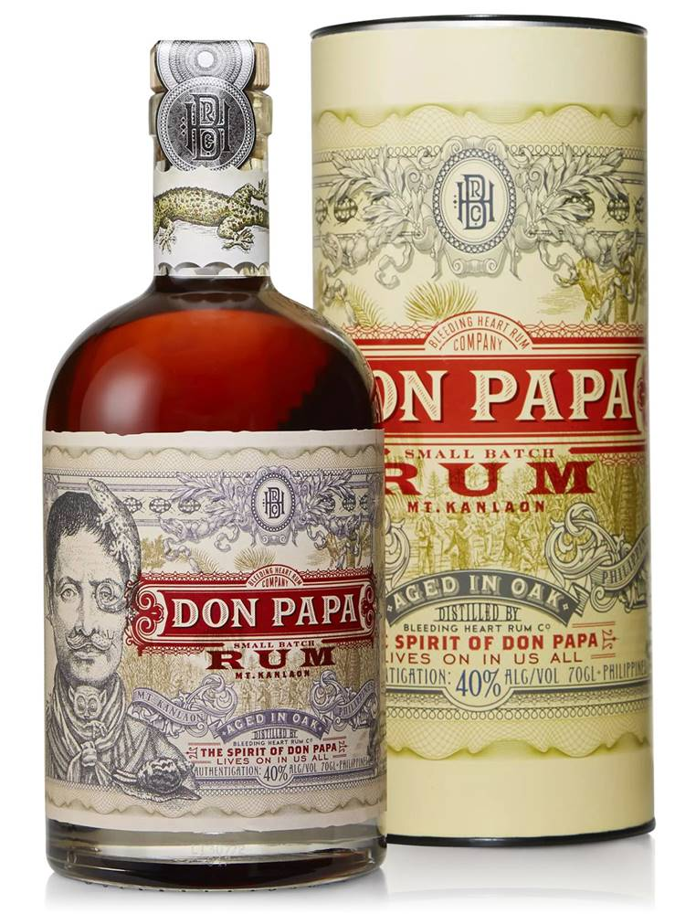 Don Papa Don Papa v tube 40% 0,7l