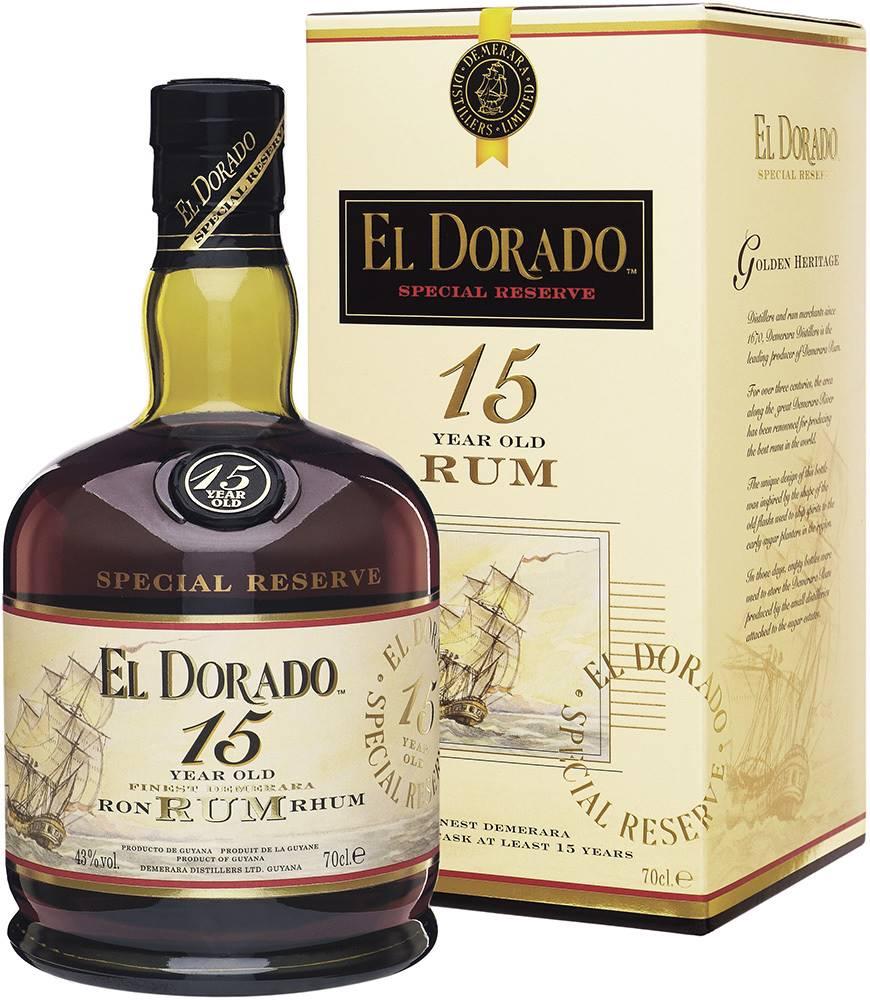 El Dorado El Dorado 15 ročný 43% 0,7l