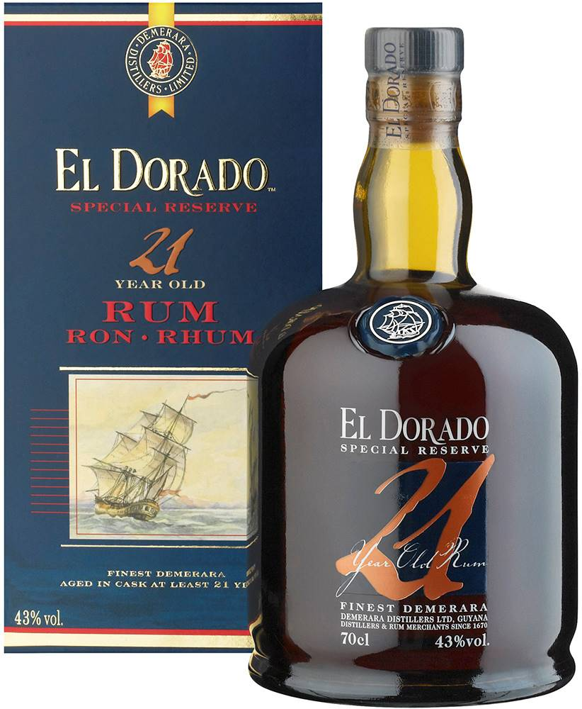 El Dorado El Dorado 21 ročný 43% 0,7l