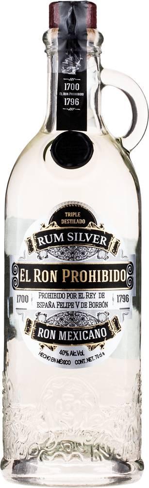 El Ron Prohibido El Ron Prohibido Silver 40% 0,7l