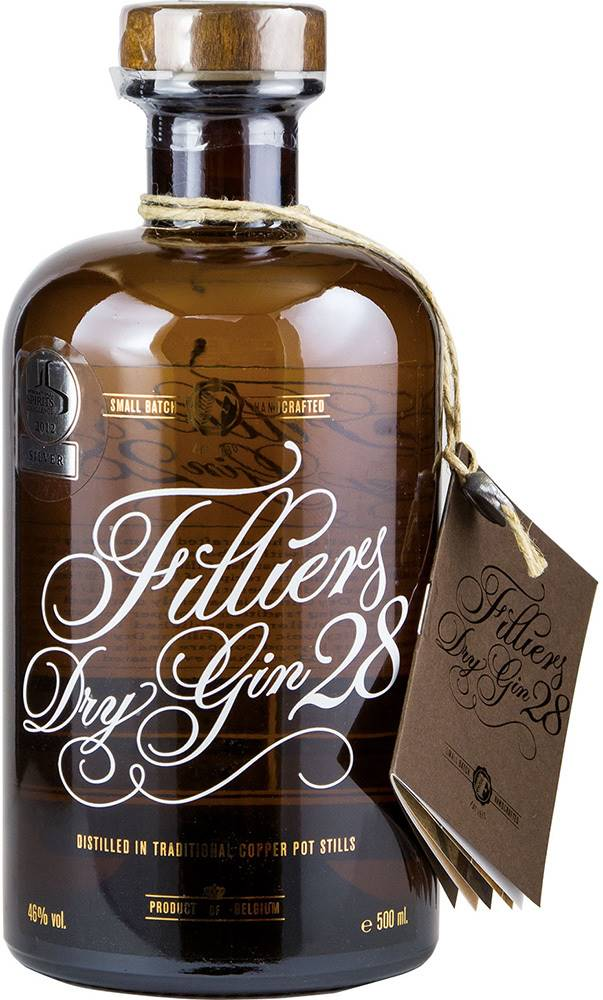 Filliers Filliers Dry Gin 28 46% 0,5l