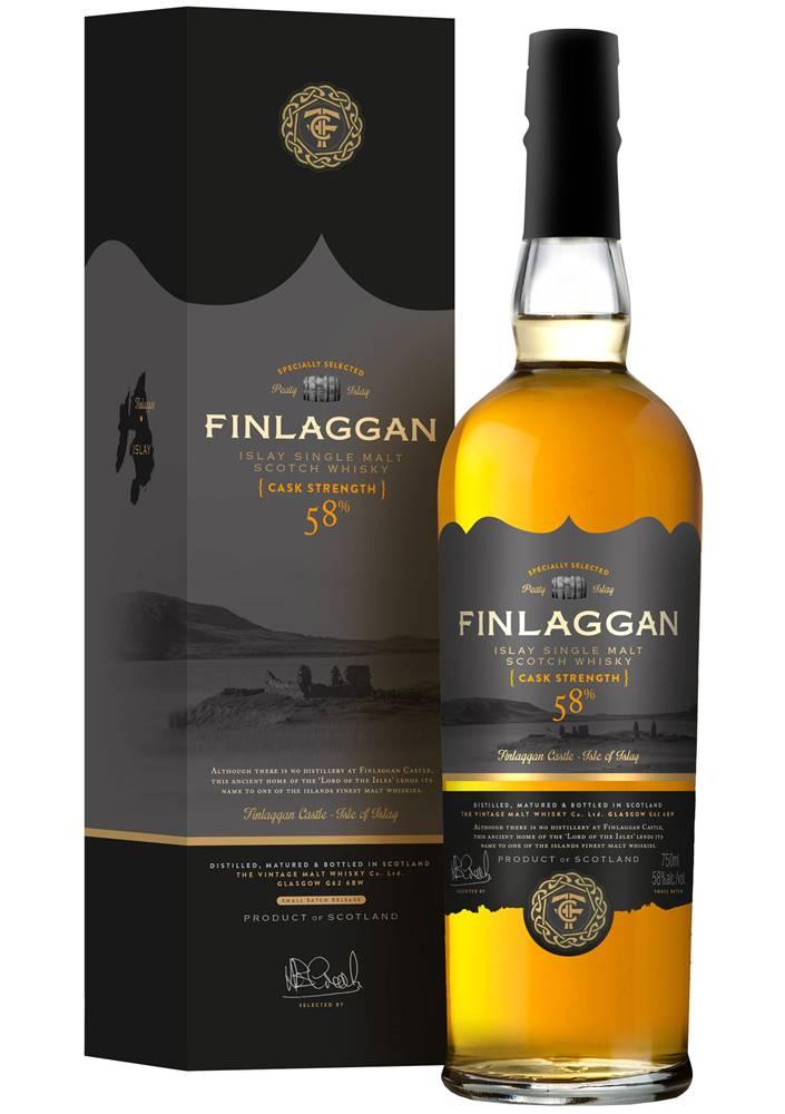 Finlaggan Finlaggan Original Peaty Cask Strength 58% 0,7l
