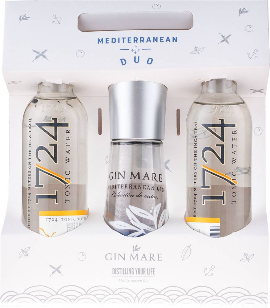 Gin Mare Gin Mare Duo Pack 42,7% 0,1l