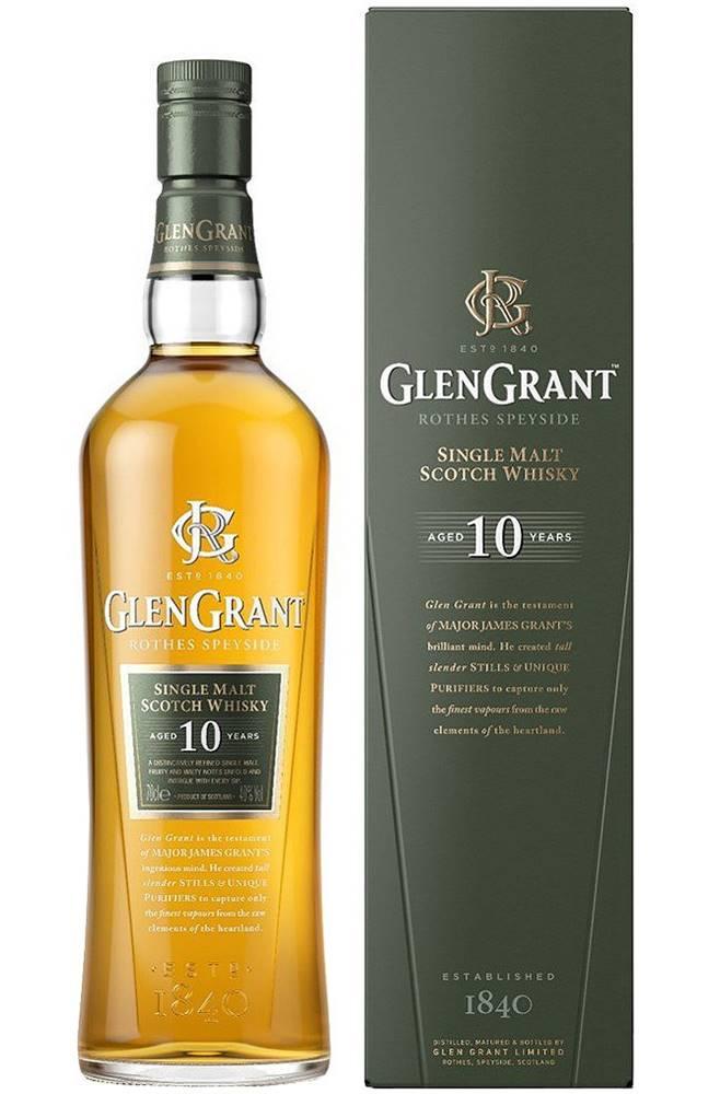 Glen Grant Glen 10 ročná 40% 0,7l