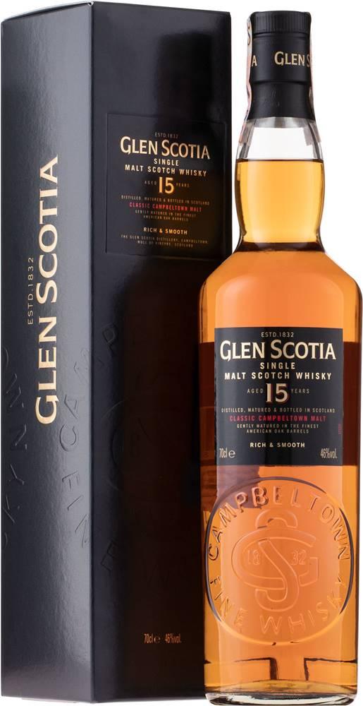 Glen Scotia Glen Scotia 15 ročná 46% 0,7l