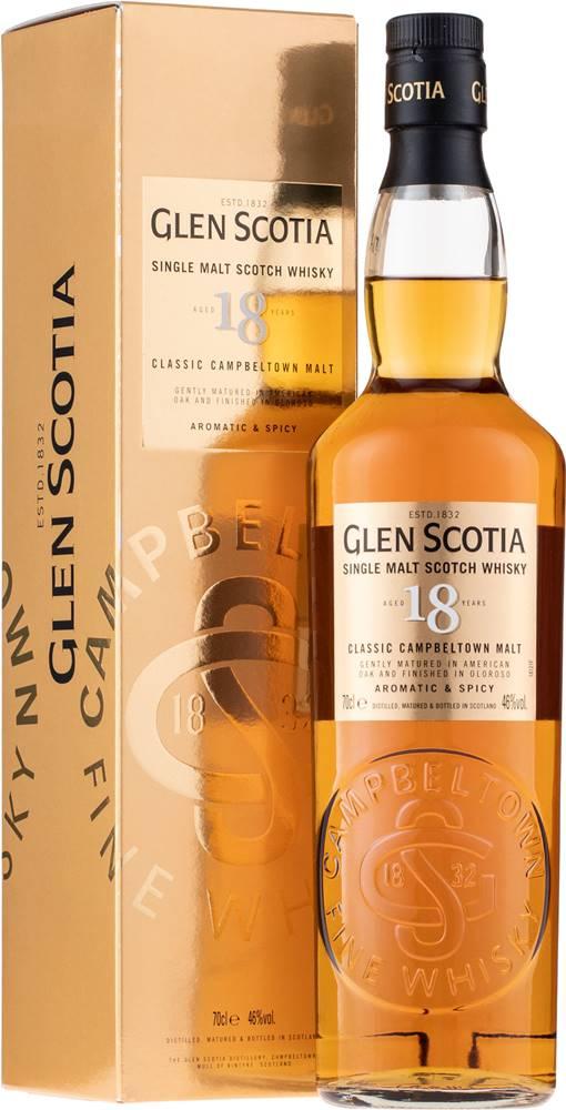 Glen Scotia Glen Scotia 18 ročná 46% 0,7l
