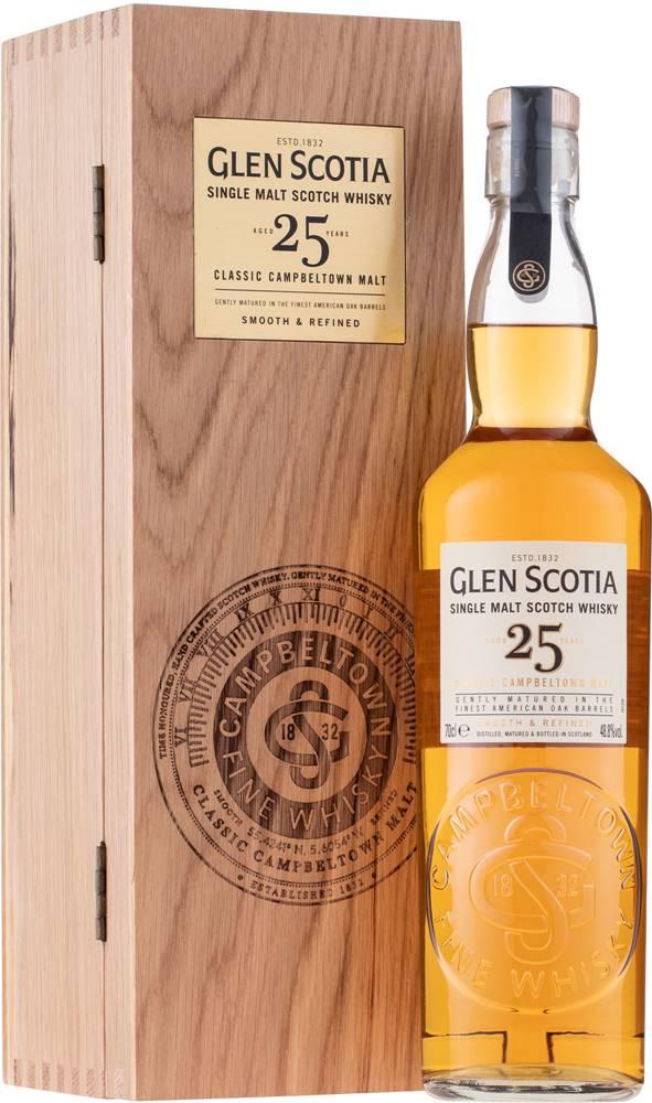 Glen Scotia Glen Scotia 25 ročná 48,8% 0,7l