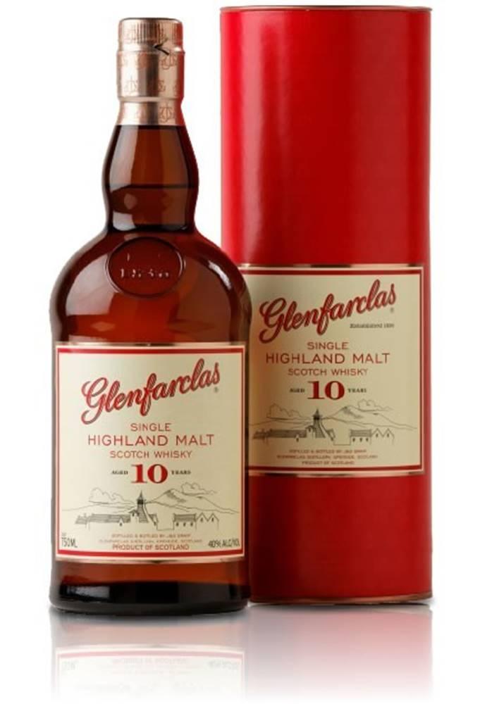 Glenfarclas Glenfarclas 10 ročná 40% 0,7l