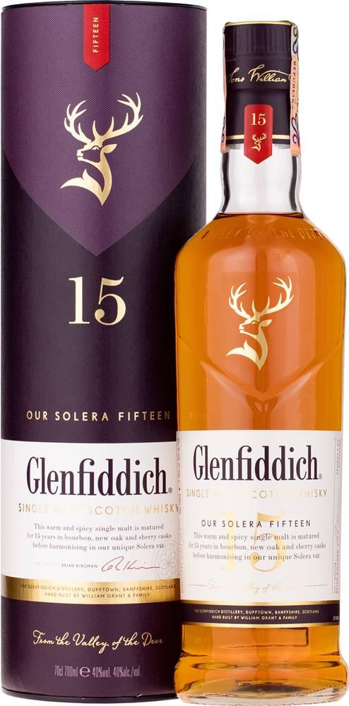 Glenfiddich Glenfiddich 15 ročná 40% 0,7l