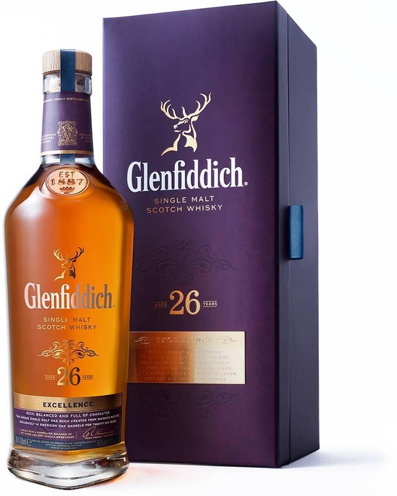 Glenfiddich Glenfiddich Excellence 26 ročná 43% 0,7l