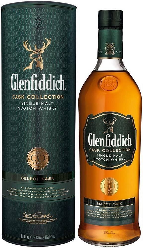 Glenfiddich Glenfiddich Select Cask 40% 1l
