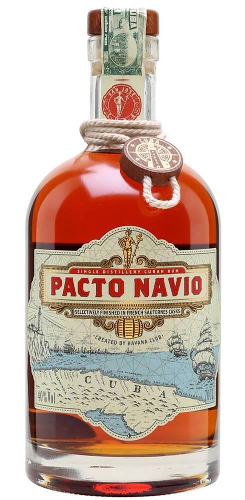 Havana Club Havana Club Pacto Navio Rum 40% 0,7l