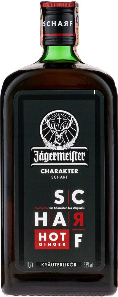 Jägermeister Jägermeister Scharf Hot Ginger 33% 0,7l