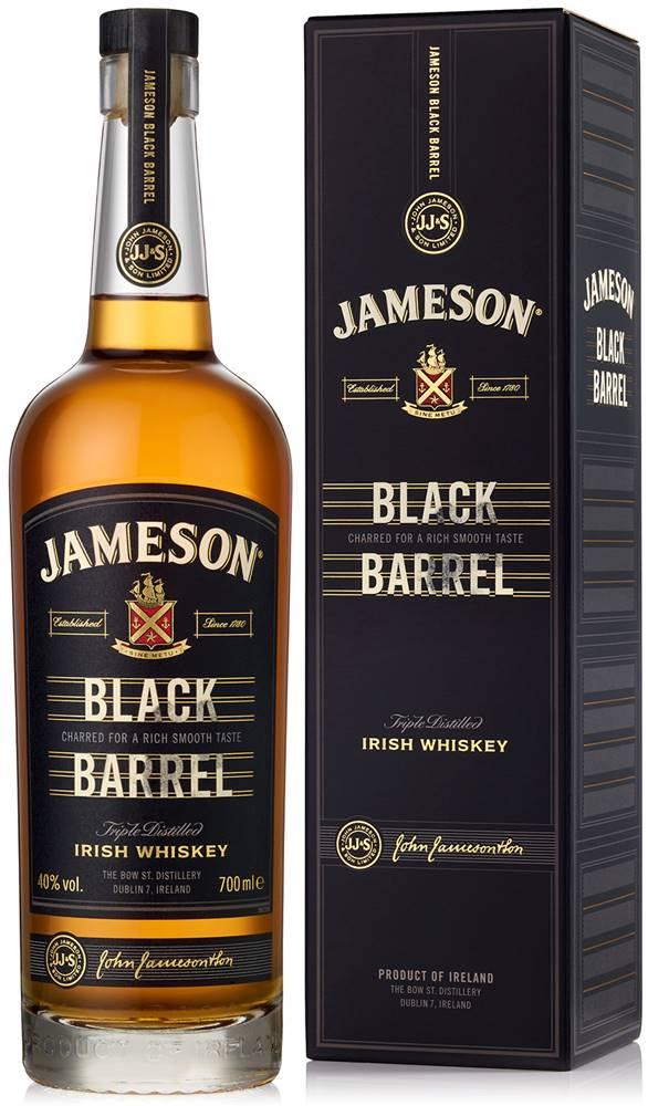 Jameson Jameson Black Barrel 40% 0,7l