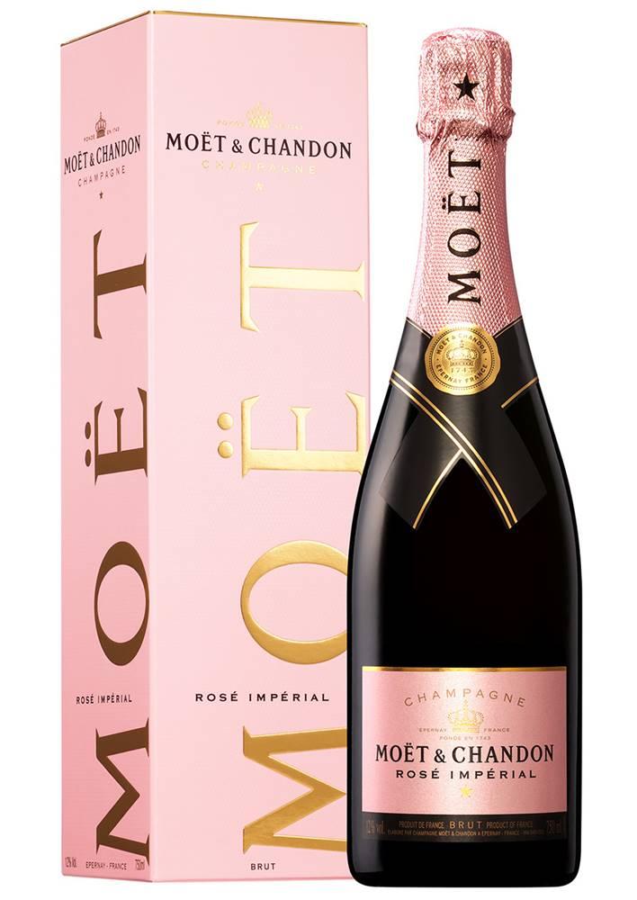 Moët Chandon Moët & Chandon Rosé Impérial v kartóniku 12% 0,75l