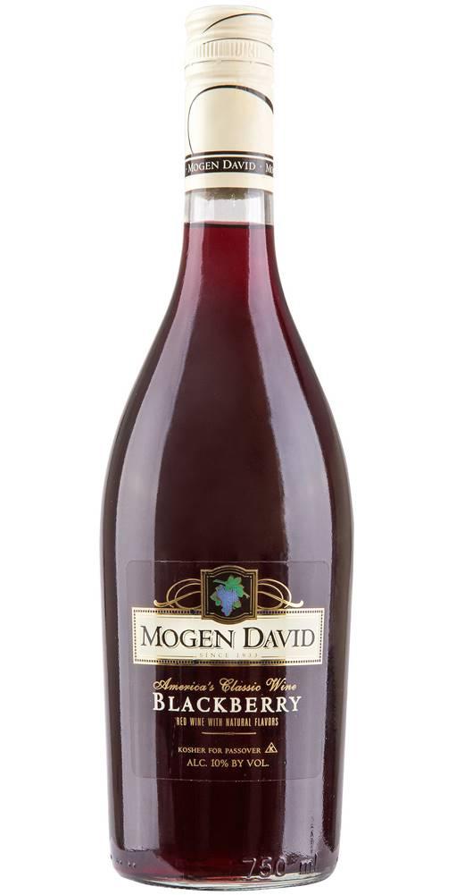 Mogen David Mogen David Blackberry 10% 0,75l