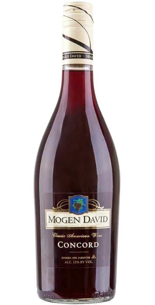 Mogen David Mogen David Concord 11% 0,75l