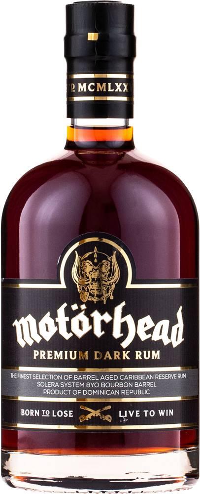 Motörhead Motorhead Premium Dark Rum 40% 0,7l
