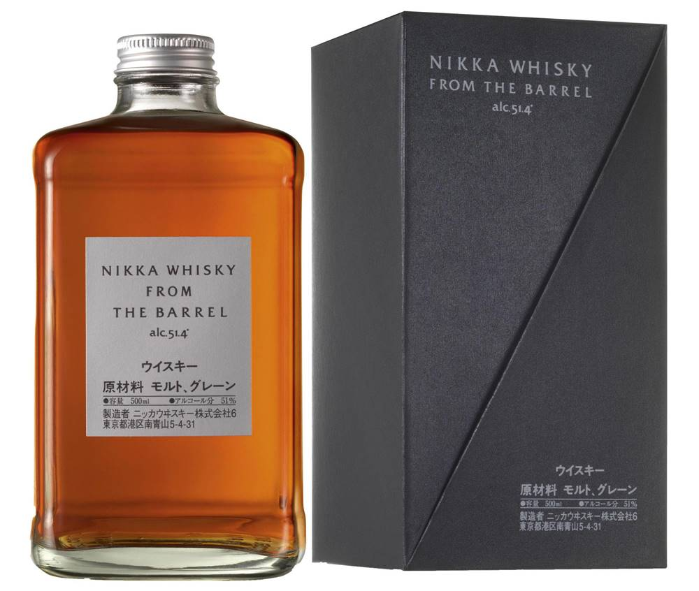 Nikka Nikka Whisky From The Barrel v kartóniku 51,4% 0,5l