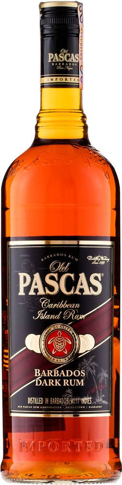 Old Pascas Old Pascas Dark Rum 1l 37,5%