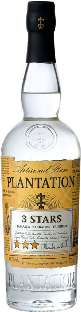 Plantation Plantation White 3 Stars 41,2% 0,7l