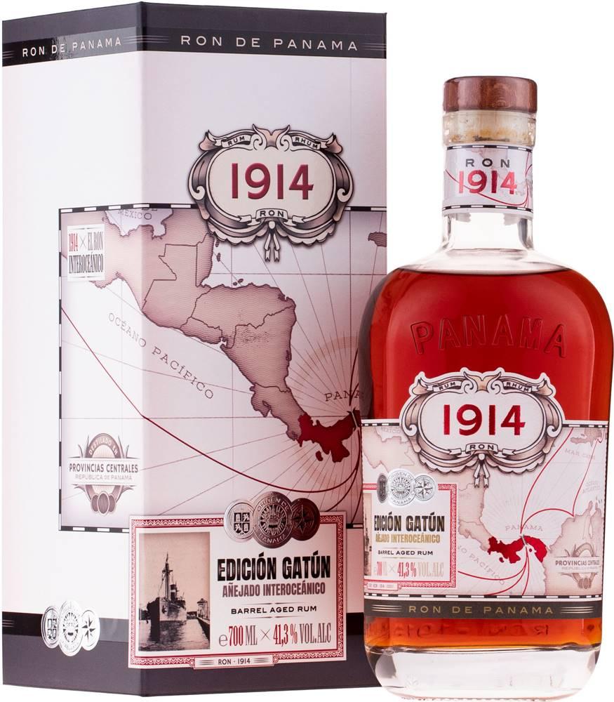 Ron 1914 Ron 1914 Edición Gatún 41,3% 0,7l