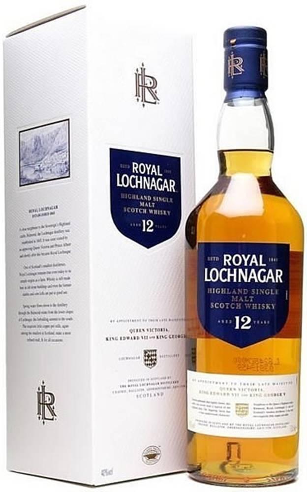 Royal Lochnagar Royal Lochnagar 12 ročná 40% 0,7l