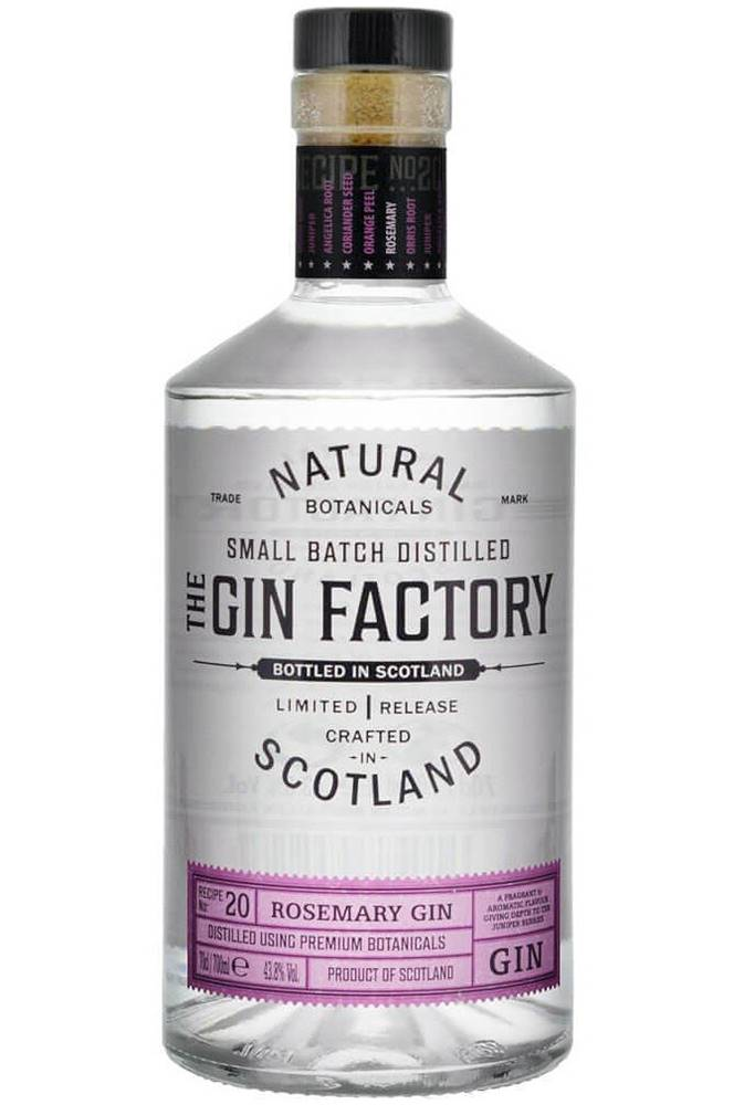 Gin Factory The Gin Factory Rosemary 43,8% 0,7l